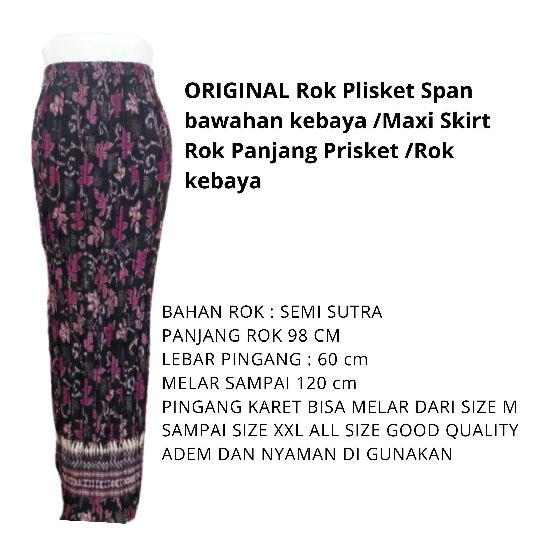 rok plikset ayunda / rok  / bawahan kebaya