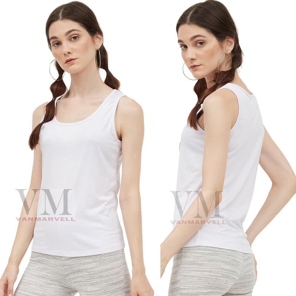VM Tank Top Wanita Basic - Singlet Polos wanita