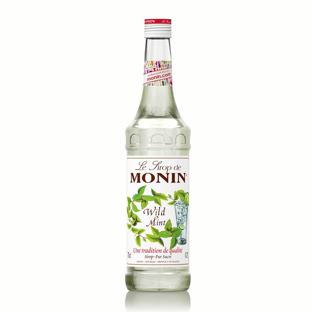 share in jar monin syrup wild mojito mint 100 ml botol corong ori
