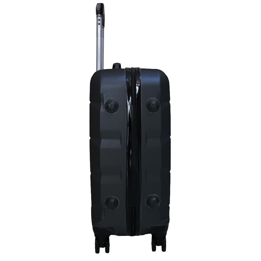 Detail Gambar Koper Polo Expley Hardcase Luggage 20 Inchi 802-20 Koper Anti Pecah Koper Import Waterproof Black Terbaru