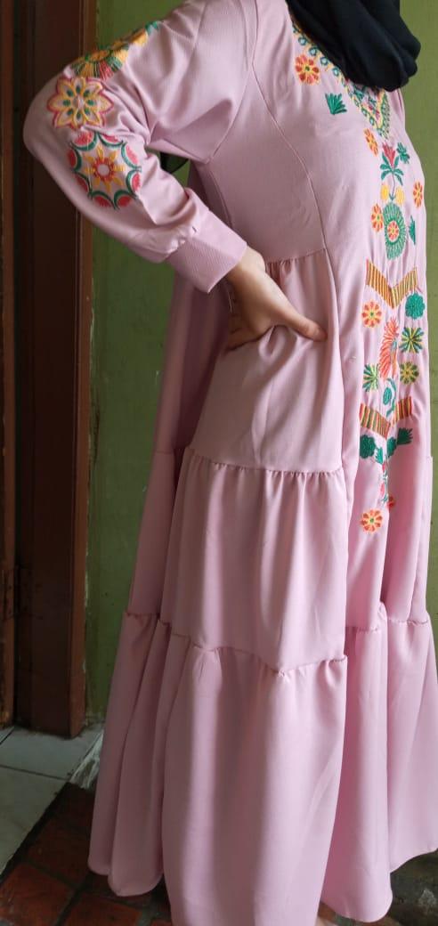 gamis  dress javina marwah dress / dress muslim / gamis / syari / baju muslim / pakaian wanita / dress