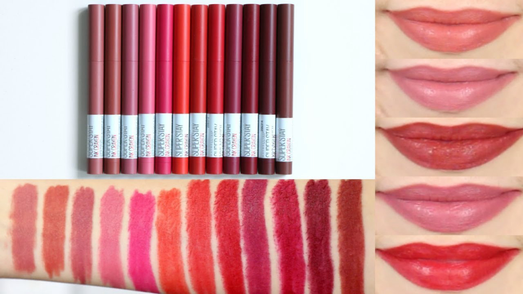 maybelline crayon lipstick