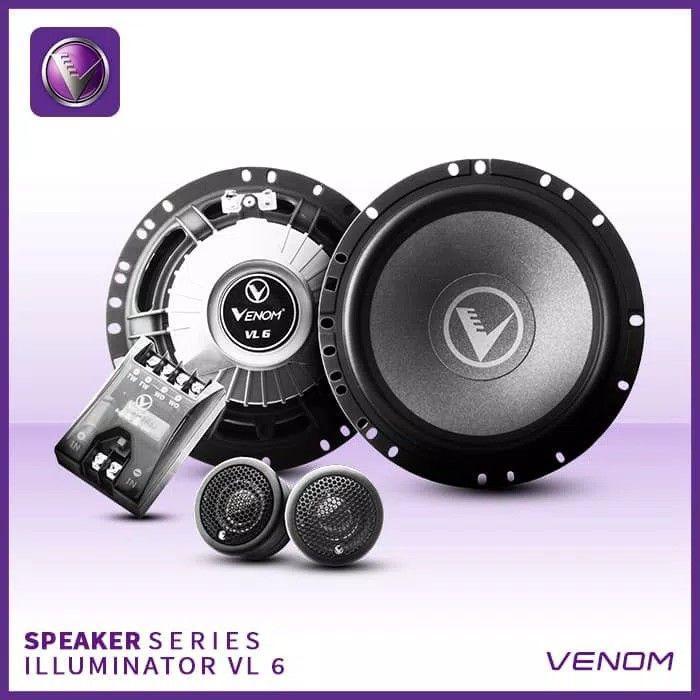 Paket Venom Pandora VPR 3.4+subwoofer aktif VX 6.8PB+Speaker Illuminator VL 6/VL 6.2 - 3