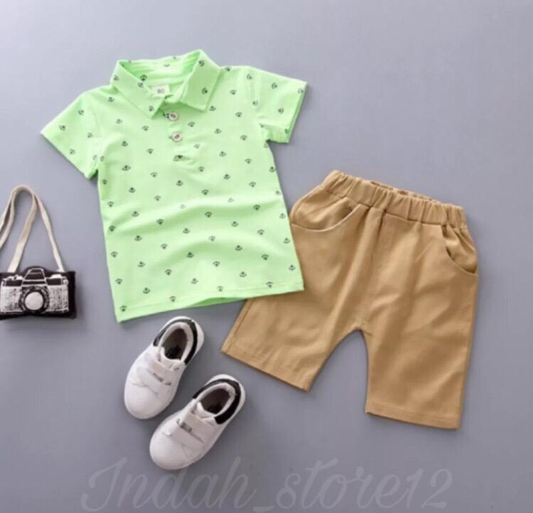 baju kemeja anak motif jerapah kids fasion high kualiti //terlaris atasan pria kemeja pria