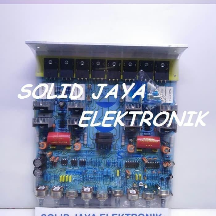 Review Kit Power Jbl 741 X3 600w Stereo Power Amplifier