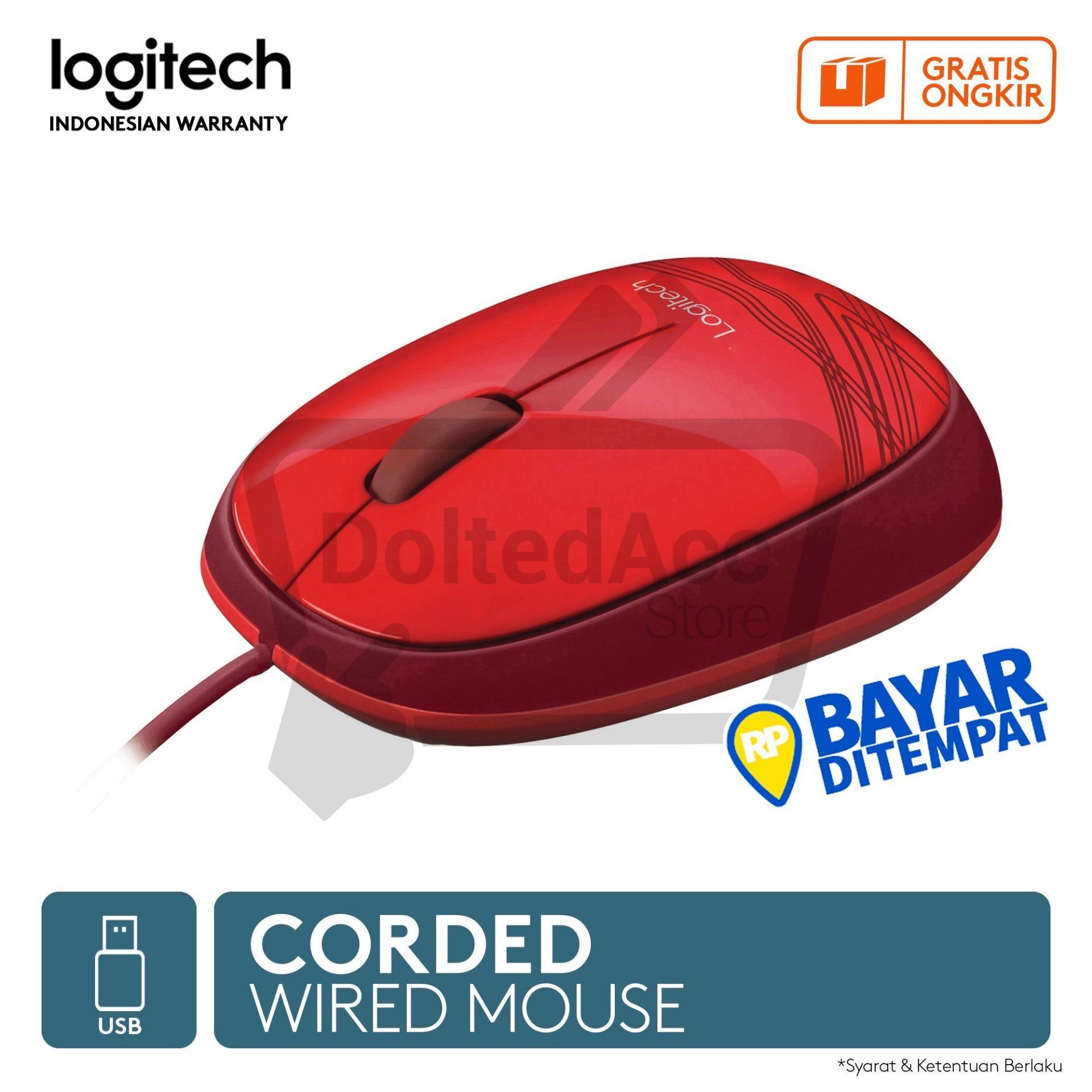 ... Logitech M105 Mouse - Merah - 3 ...