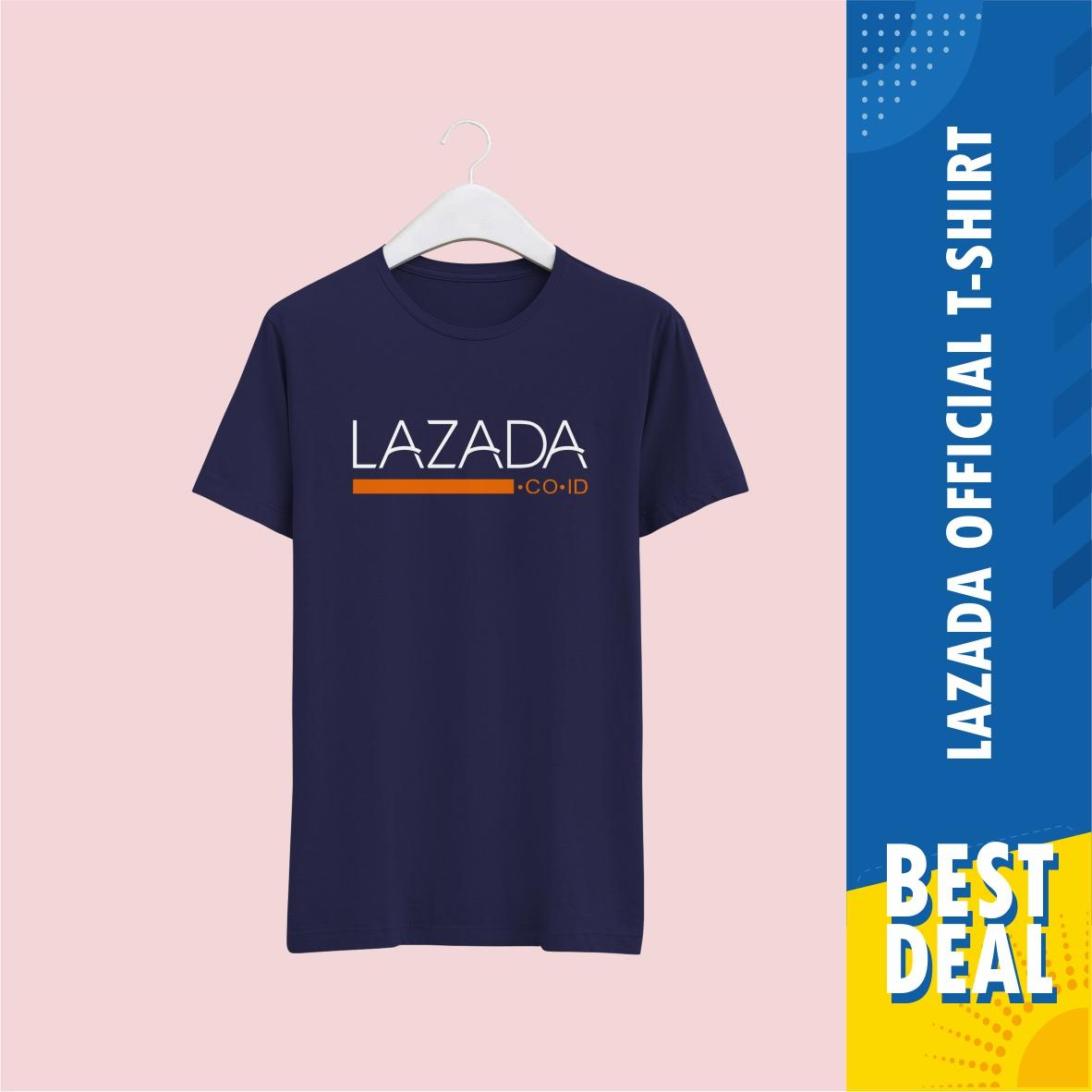 Kaos Official Lazada - Tshirt Limited Edition Premium Quality