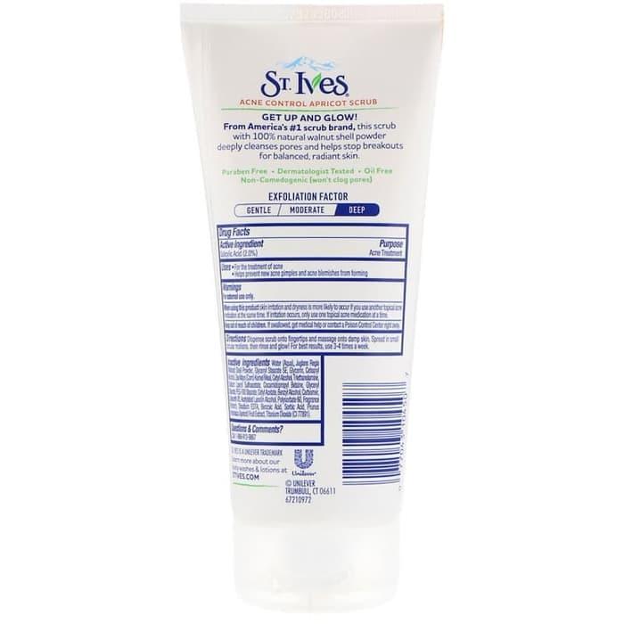 ... PROMO St Ives Blemish Control Apricot Scrub 170 g gram USA new packaging - vQfSAvdF ...
