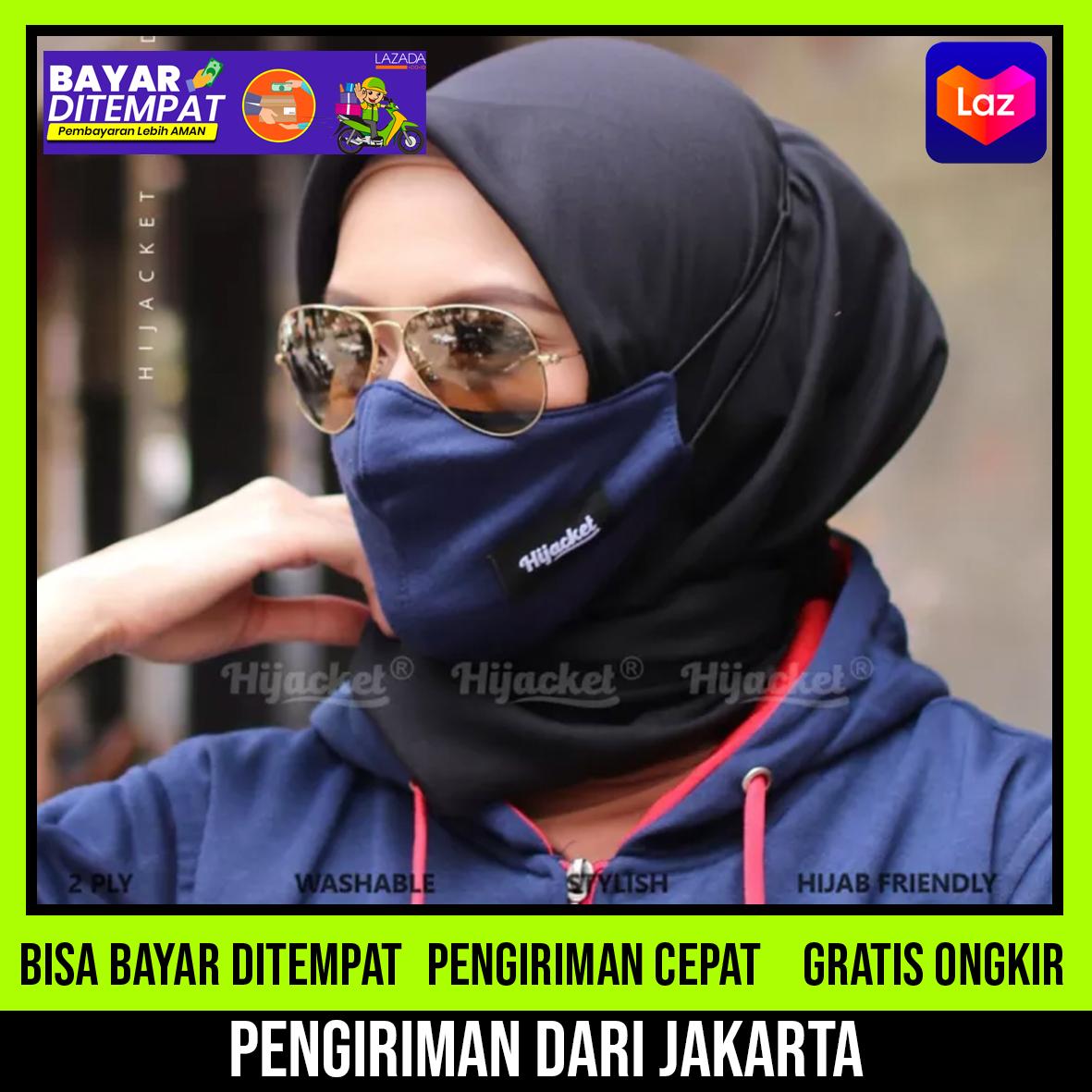 bisa bayar dirumah masker kain fenomenal micro masker blok up to 70% virus / masker hijab masker kain / masker debu / tali karet / micro mask hijacket warna / masker berkendara / premium fleece & poly-fiber pabric