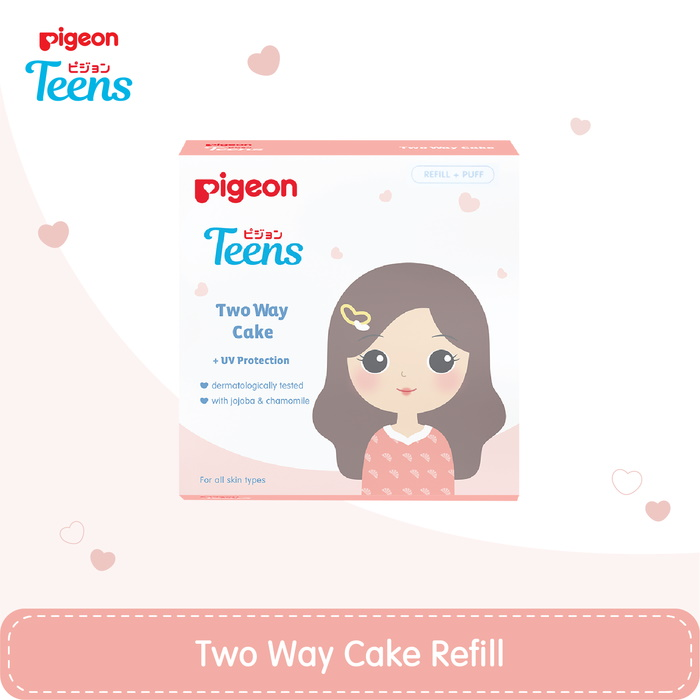 pigeon teens two way cake refill
