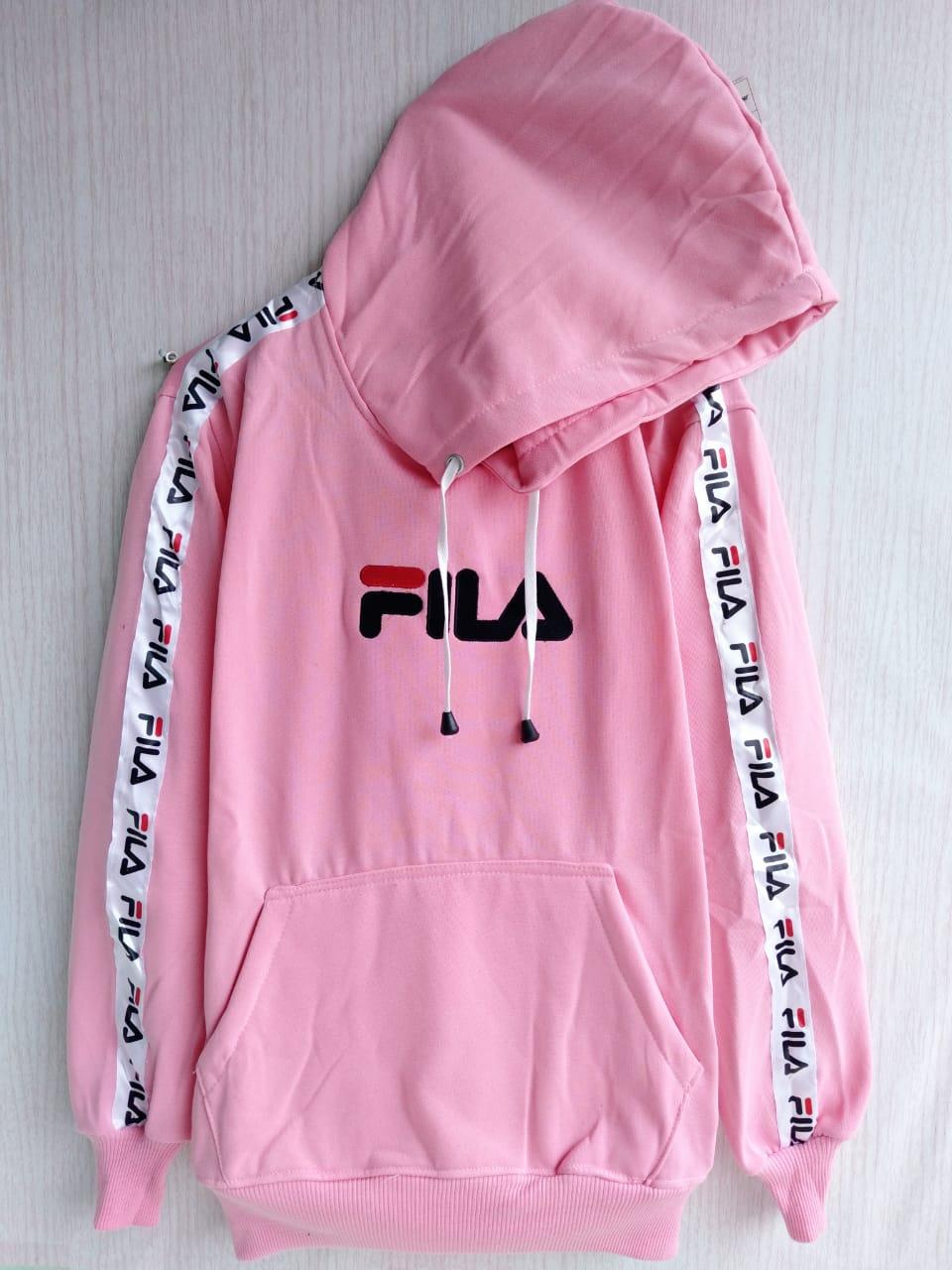 21745da28 Review New Jaket Sweater Fila Footwear Usa Fashion Pria Wanita Navy ...