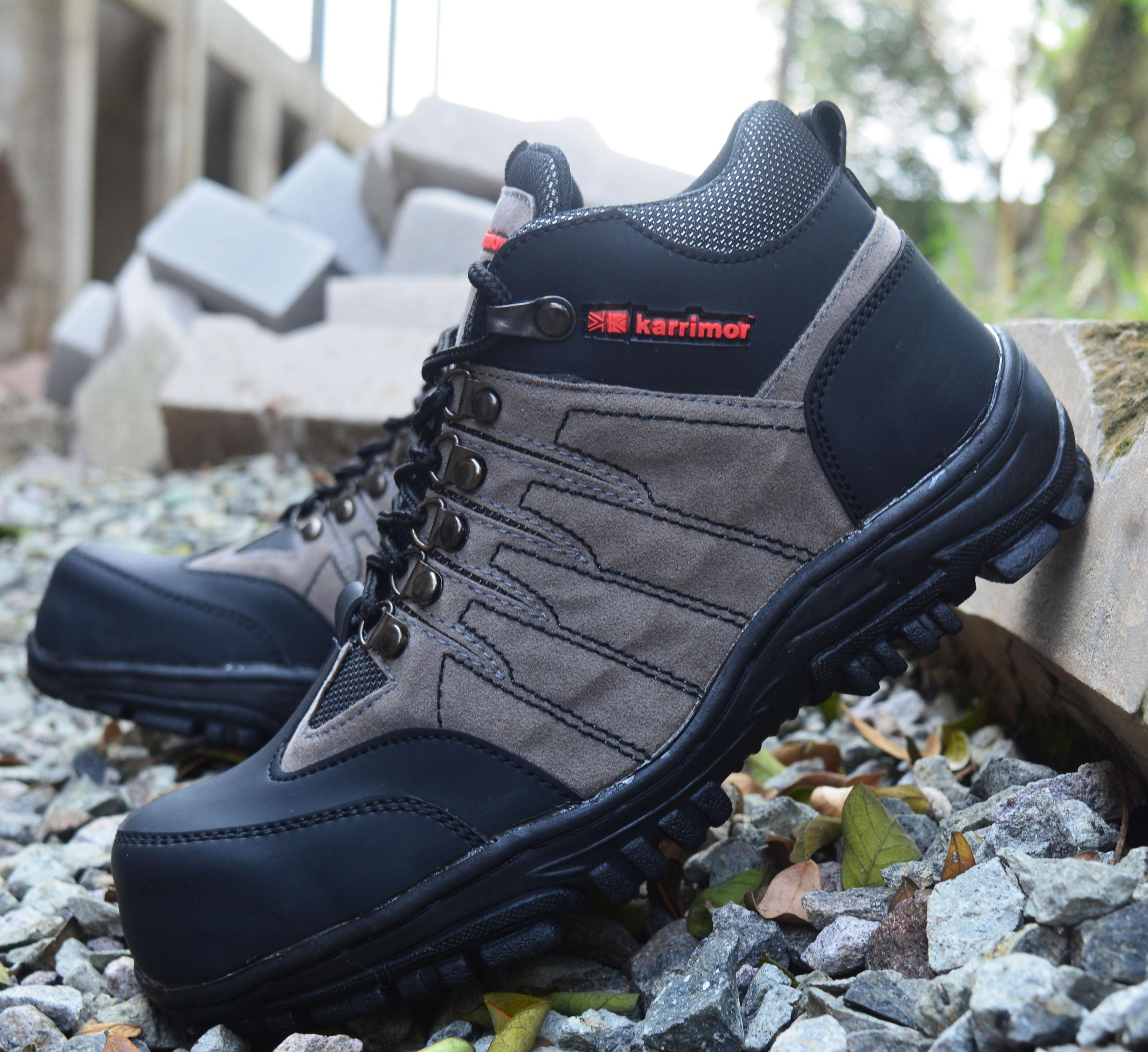 sepatu boots safety pria hiking ujung besi safety – sepatu safety boots – sepatu boots hiking – sepatu safety boots pria – sepatu kerja lapangan