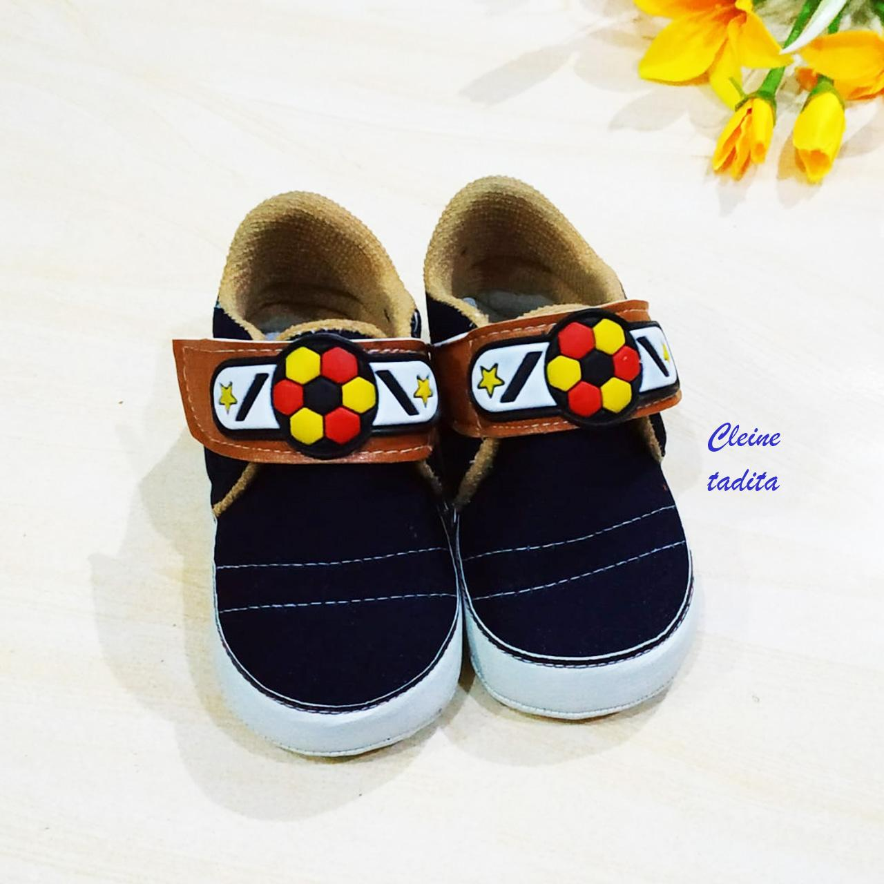 cleine tadita – sepatu santai baby shoes sepatu bayi laki-laki allsize 0-10 bulan kombinasi dikirim random