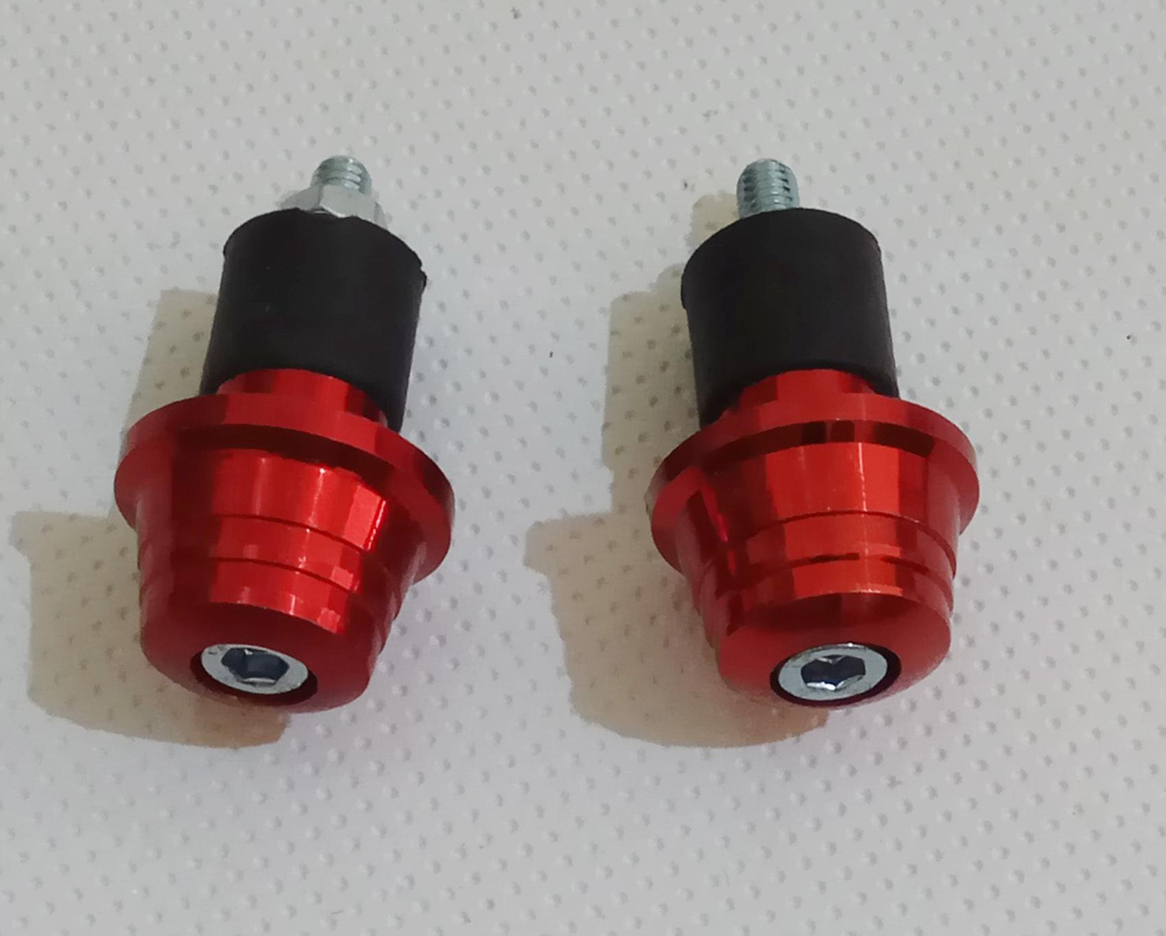 Detail Gambar jalu stang stir. stabilizer setang model granat warna merah. fbl Terbaru