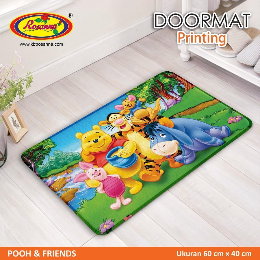 Keset Rosanna Printing 40x60 Pooh Friends