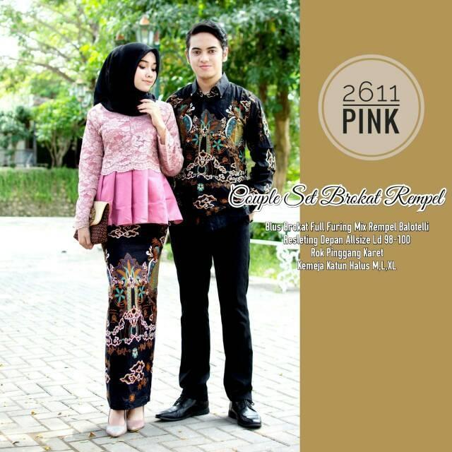 Review Sarwendah Couple Batik Gamis Brokat Kondangan Modern Dan