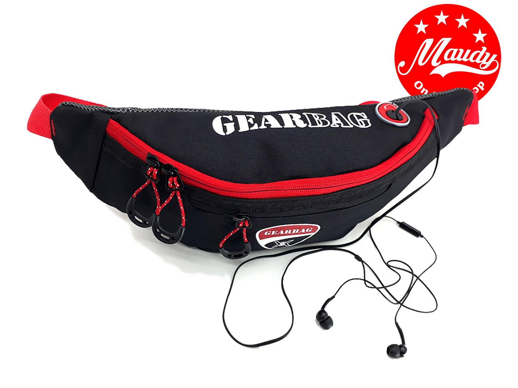 waist bag sling bag tas selempang pria tas pinggang pria tas distro gear bag