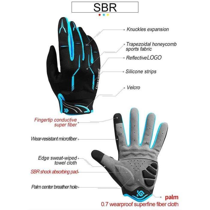 ... CoolChange Sarung Tangan Sepeda bike gloves SBR Pad breathable motor motorcycle MTB DJ FIXIE ROADBIKE motocross ...
