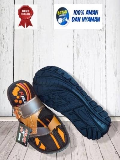 kaleo sandal tpr remaja pria   klo 24 size 33-37