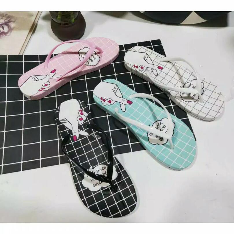 qrs – sandal gunung korean style wanita / sie 36-40