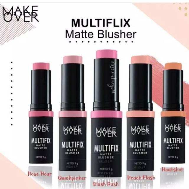 Make Over Multifix Matte Blusher Ori