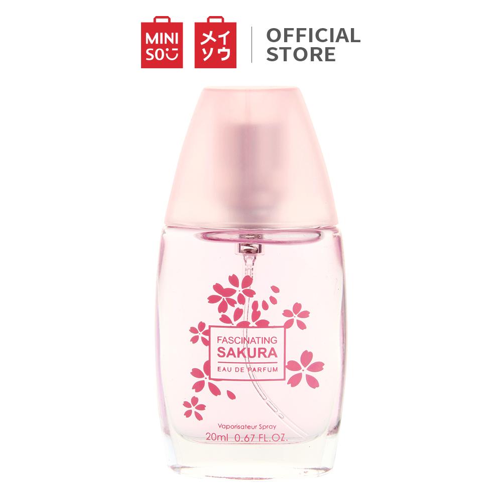 Nước hoa Sakura Lady quyến rũ Miniso 20ml nuoc hoa thơm lâu nữ nước hoa nữ thơm lâu nươc hoa nữ dầu thơm nữ dau thom nữ