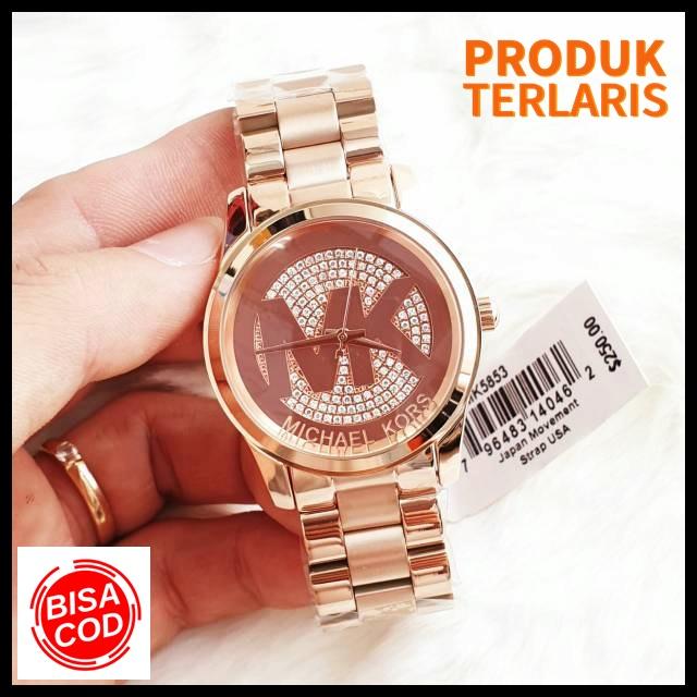 jam tangan wanita jam tangan original jam tangan mewah jam tangan michael kors fashion wanita anti air keren outdoor kado branded watch