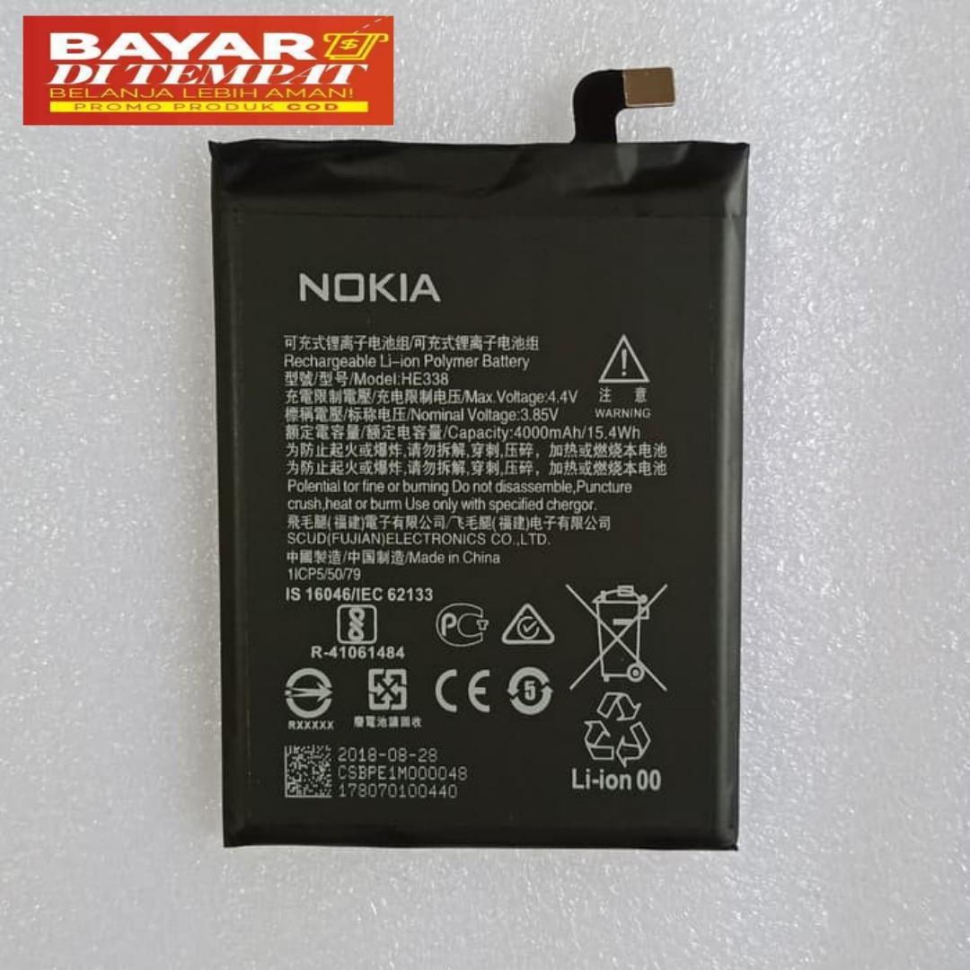 baterai original nokia 2 ta-1029 he338 original battery batre nokia