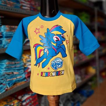 malabis store / kaos raglan anak / kaos kekinian / little pony