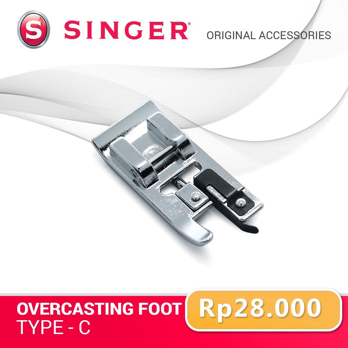 Overcasting Foot Type C- Sepatu mesin jahit Portable