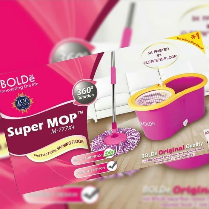 Detail Gambar OnlineKeren Super MOP M-777x Bolde Supermop M777x Alat Pel Bolde Super Mop Origina - PINK Pel Terbaru