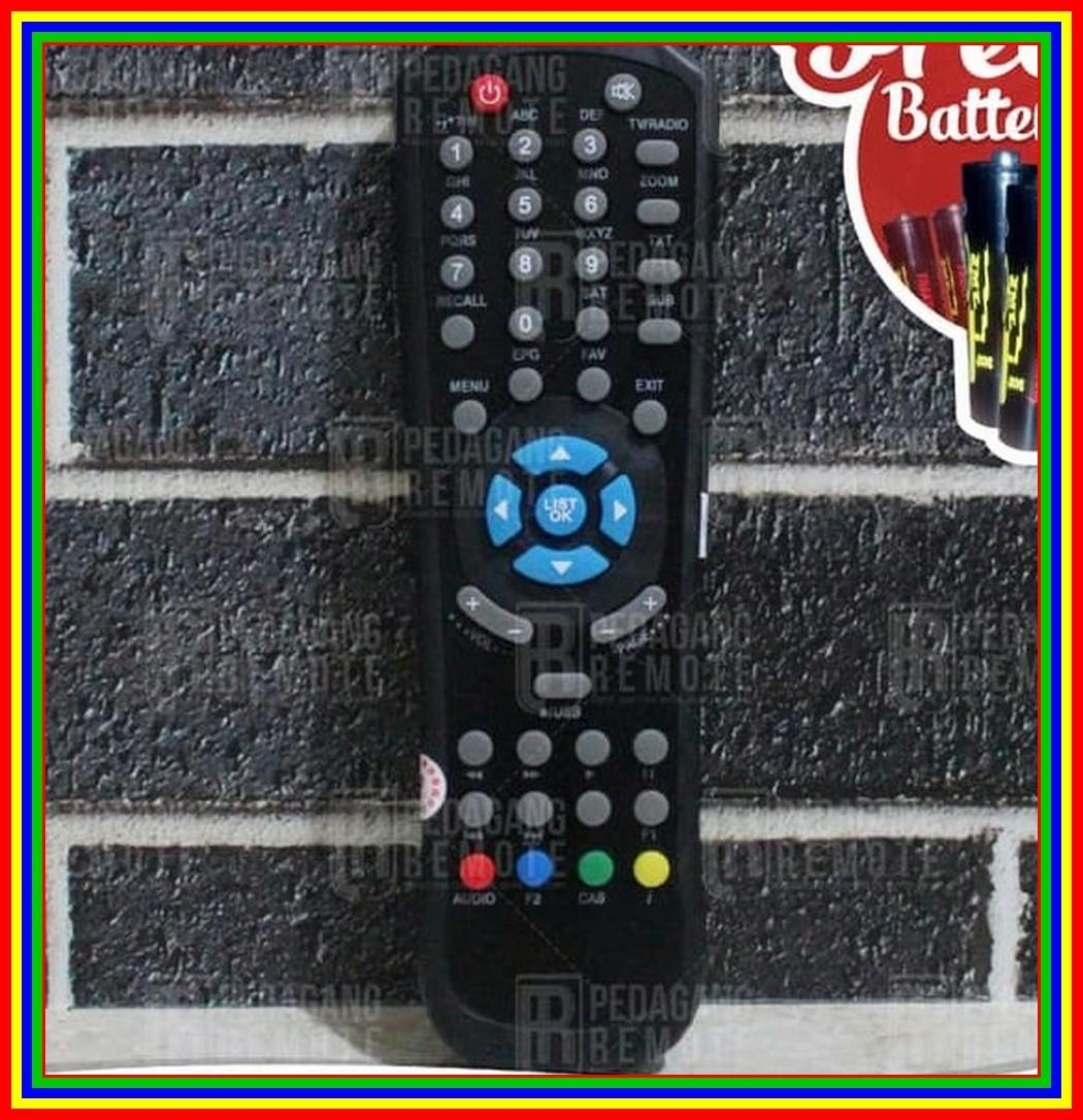 Remot Remote Receiver TV Parabola Matrix Garuda MPEG-4