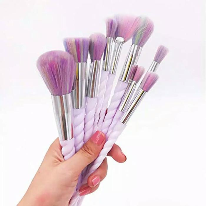 kuas make up n3 set isi 12pcs – makeup brush naked