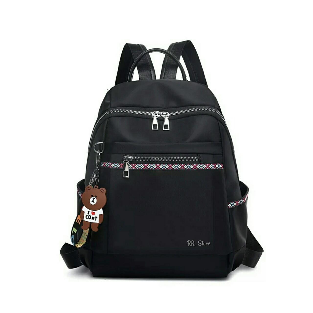 jc_jay collection tas ransel wanita tas ransel fashion tas ransel wanita  korean style occan free gantungan