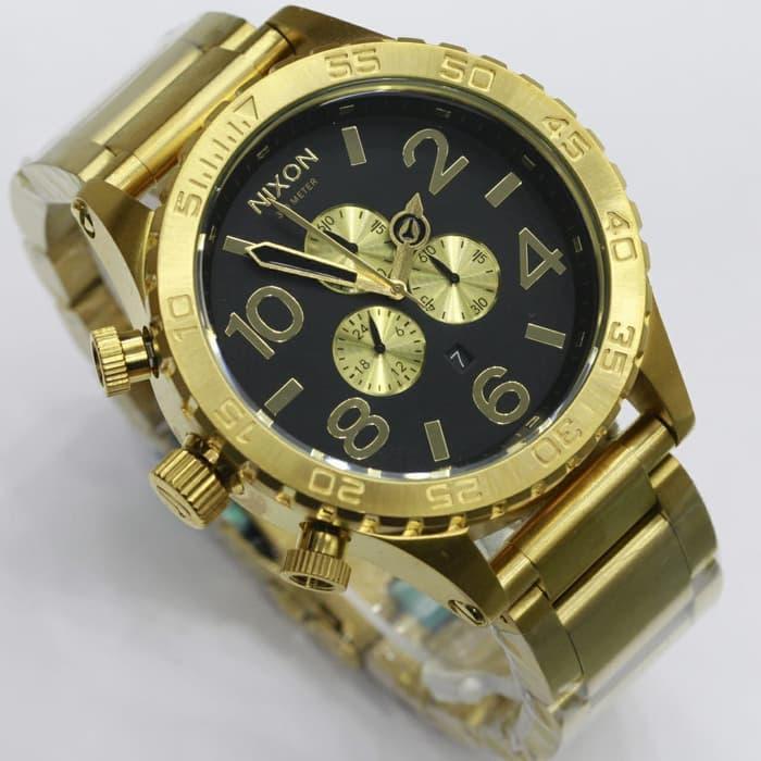 Detail Gambar Jam Tangan Nixon the 51-30 Super premium Chronograph stopwatch murah Terbaru