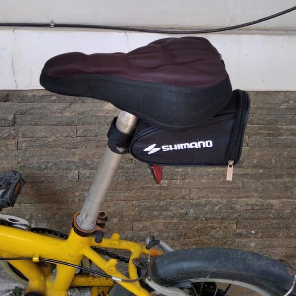 gshop tas sepeda lipat tas sadel tas hp sepeda tas gadget