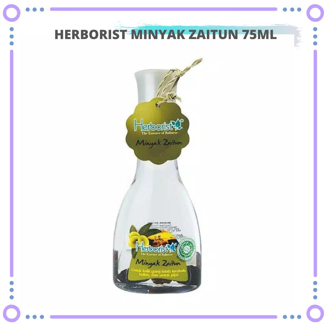 minyak zaitun herborist asli 75ml – olive oil herborist untuk kulit kering