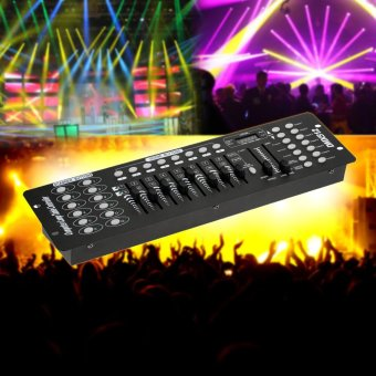 192 Channels DMX512 Controller Console for Stage Light Party DJ Disco Operator Equippment - intl