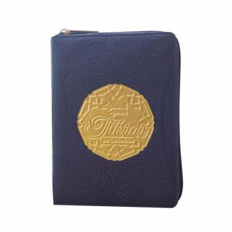 Al Quran Hafalan Syaamil Tikrar Jaket Resleting Ukuran B6 - Biru Krem - Alquran Kecil