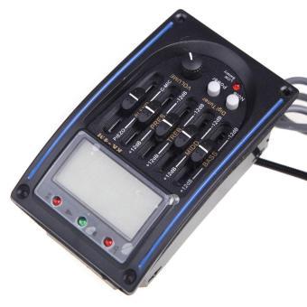 Bandingkan Toko EQLC-5 5-Band EQ Equalizer Sistem Akustik Gitar Preamp Piezo Pickup