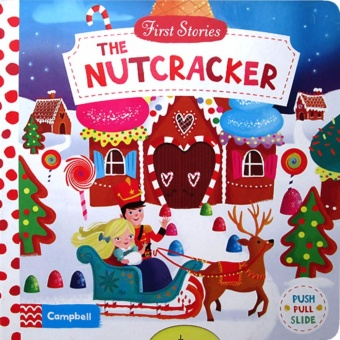Hellopandabooks - First Stories The Nutcracker - Push Pull Slide Board Book