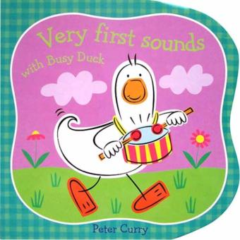 Hellopandabooks - Very First Sounds With Busy Duck Board Book
