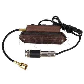 Harga Rosewood Dual Coil Soundhole Pickup with Microphone for Acoustic Guitar
