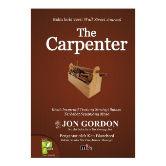 Harga MIC Publishing Buku The Carpenter - Jon Gordon