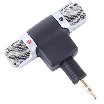 Harga Portable Digital Stereo Mini Microphone for Sony MIC-DS70P Computer Recorder - Intl