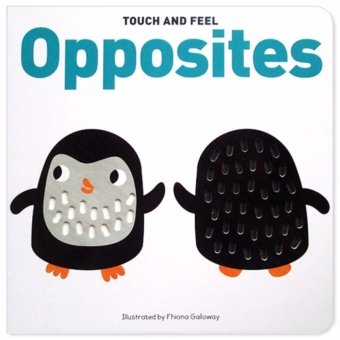 Harga Hellopandabooks - Touch and Feel Opposites Board Book