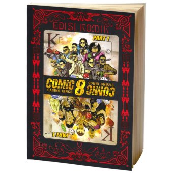 Harga Buku Kita Edisi Komik: Comic 8 Casino Kings Part 1