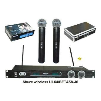 Harga Mic wireless shure ULX 4 beta 58