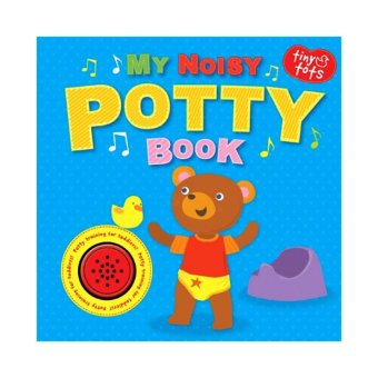 Harga Hellopandabooks - Tiny Tots My Noisy Potty Sound Board Book