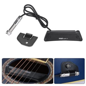 High Quality Passive Magnetic Soundhole Pickup Pick-up Single Coil for Folk Guitar - intl